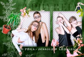 Png Pack #42 - Jessica and Anastasija by ephyreia