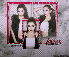 Png Pack #52 - Lauren Jauregui by ephyreia