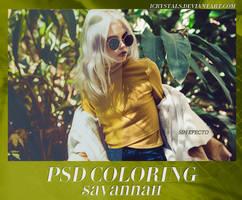 Savannah PSD COLORING by ephyreia