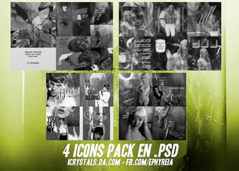 4 icons pack en .psd by ephyreia