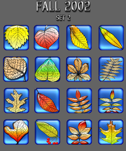 Fall Icon Collection 2 by rautry