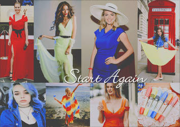 Start Again PSD by LaurithaG
