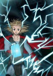 Thor d'Asgard - Etape by MlleOcatopus