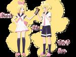 Secret Lie Rin Len DL