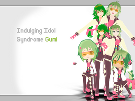 Indulging Idol Syndrome GUMI DL by xkyarii