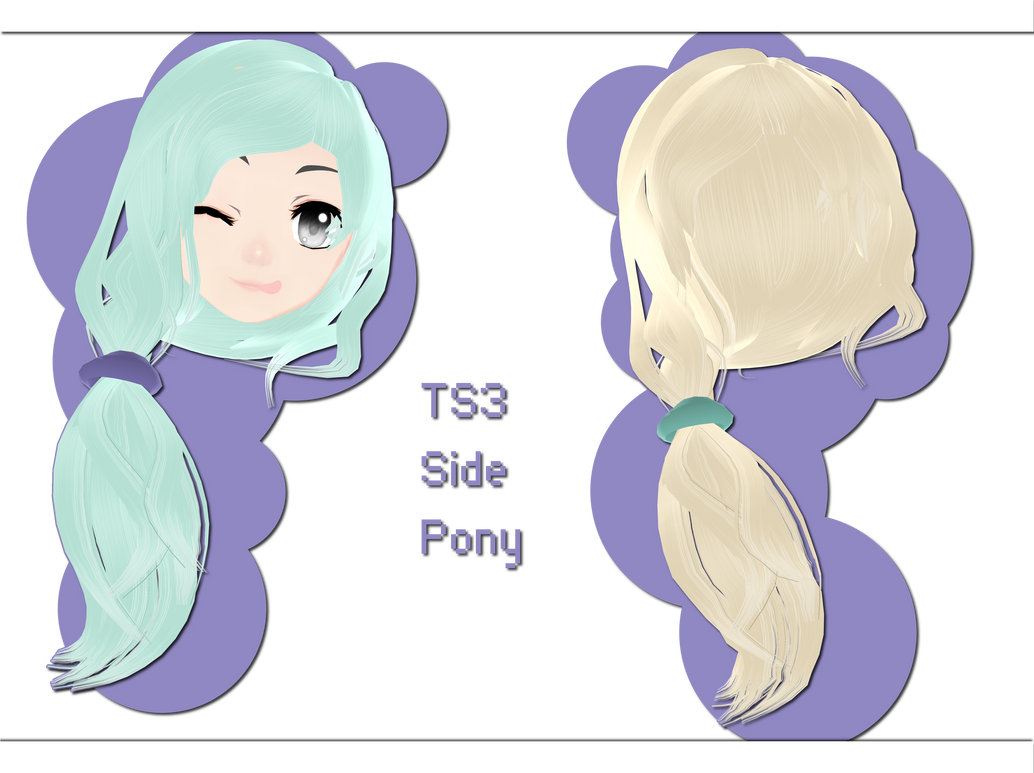 TS3 Side Pony DOWNLOAD by xkyarii