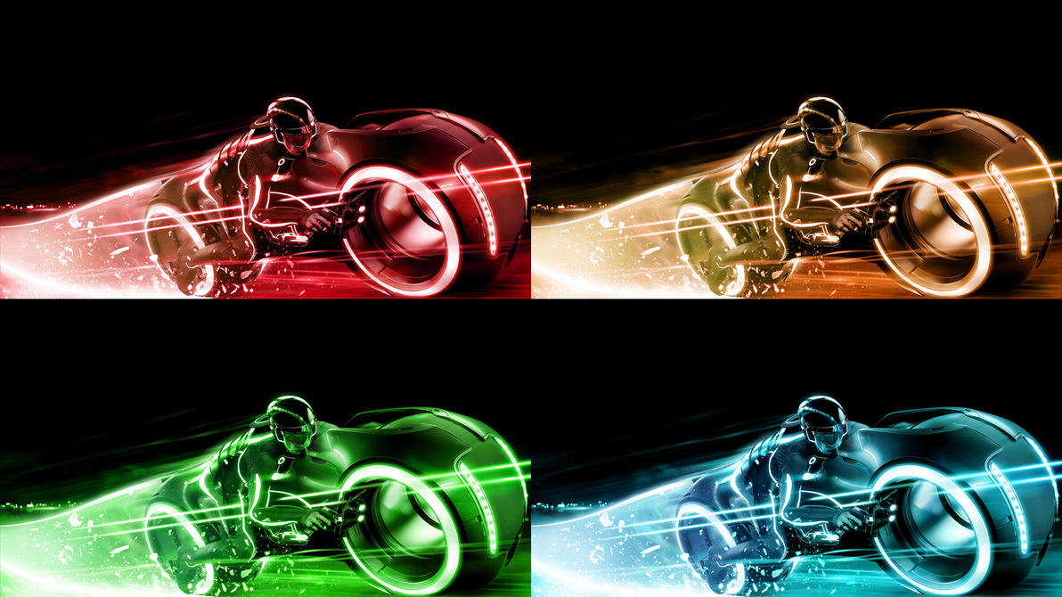 tron: legacy wallpaper packtheandrenator on deviantart