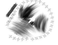 Hair Animated Brush 4 Gimp by Gymnart