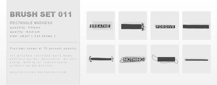 Brush Set 011