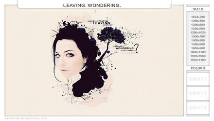 leaving. wondering. by dannielle-lee