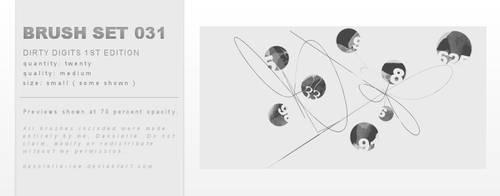 Brush Set 031 by dannielle-lee
