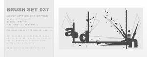 Brush Set 037 by dannielle-lee