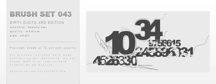 Brush Set 043 by dannielle-lee