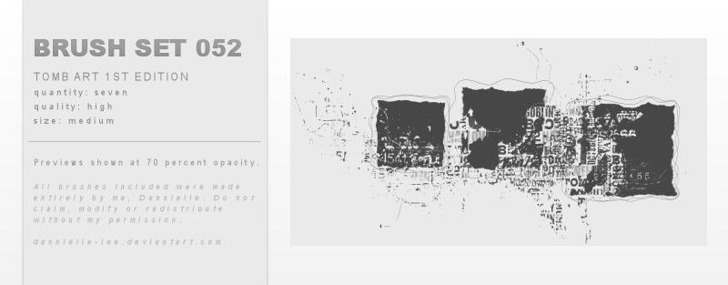 Brush Set 052 by dannielle-lee