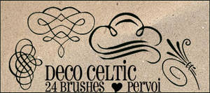 Celtic brushes by PervoiBrushes
