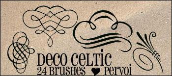 Celtic brushes