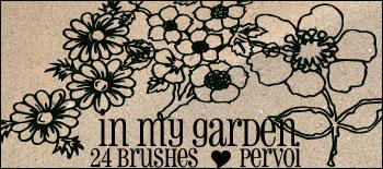 Flower brushes by PervoiBrushes