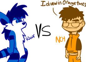 FLA fighto:NCH85 Vs Rawr-Grawr by NCH85