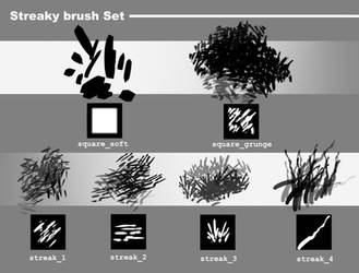 Feivelyn's Streaky Brush Set for SAI 2 by Feivelyn