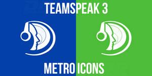 TeamSpeak 3 Metro Icons