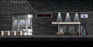 Maplestory Background | Subway Station by Stxrrie