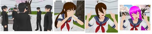 Yandere Simulator - Osomatsu-san Students Mod by Zimtardmemetrash