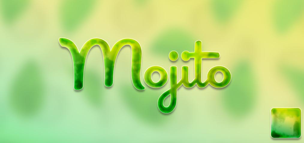 FREE Mojito layer style