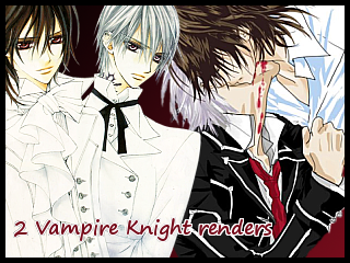Vampire Knight Renders 2 by yumi1805