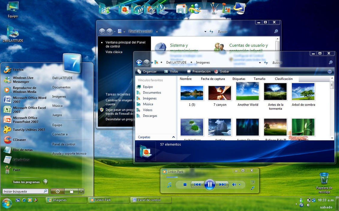 Windows 7 glass energy blue by kusagami88 on deviantart for Energy windows