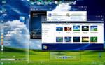 Windows 7 Glass Energy Blue