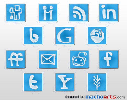 74 MachoArts social media icon by suraj78