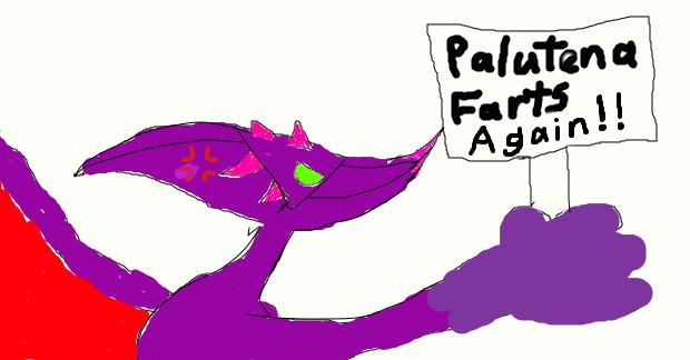 Ridley's reaction to Palutena's farting habit by BenorianHardback26