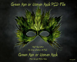 Green ManWoman Transparent PSD by briarmoon-stock