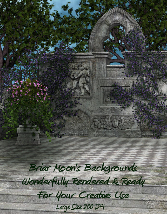 Anicent Patio Pre Made BG By Briarmoon Stock On DeviantART