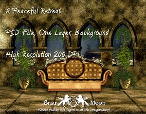 A Peaceful Retreat BG PSD File