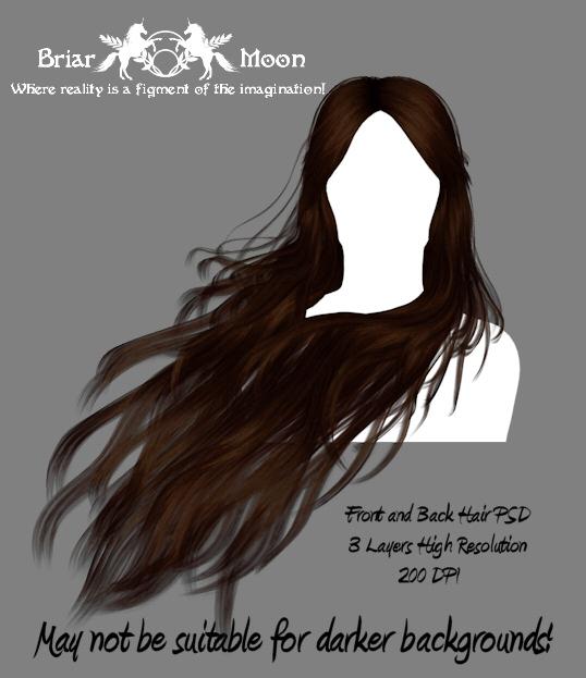 Hair Stock PSD 1 by briarmoon-stock