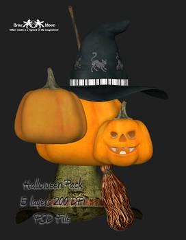 Halloween PSD Pack
