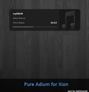 Pure Adium for Xion