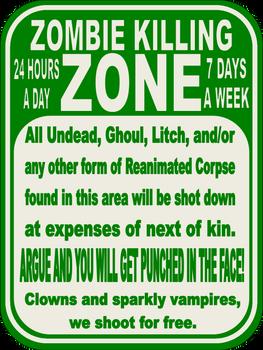 Zombie KIlling Zone