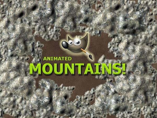 GIMP-Mountains-Brush by Chrisdesign