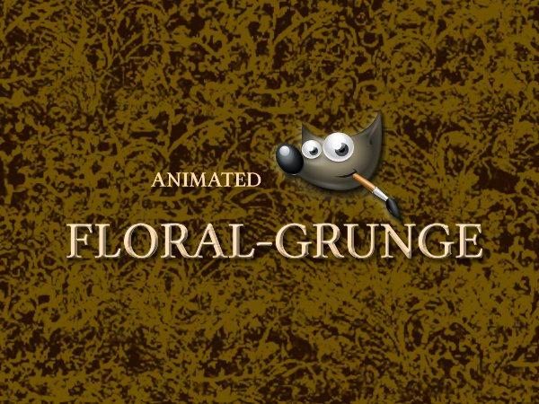GIMP-Floral-Grunge-Brush by Chrisdesign