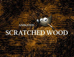 GIMP-Scratched Wood-Brush by Chrisdesign