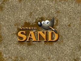 GIMP-Sand-Brush by Chrisdesign