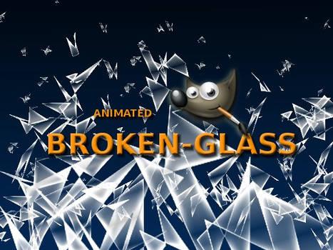 GIMP-Broken Glass-Brush
