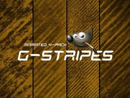 GIMP-G Stripes Brush by Chrisdesign