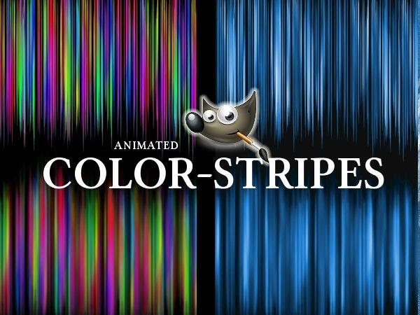 GIMP-Colorstripes-Brush set by Chrisdesign