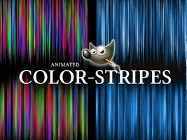 GIMP-Colorstripes-Brush set by Chrisdesign