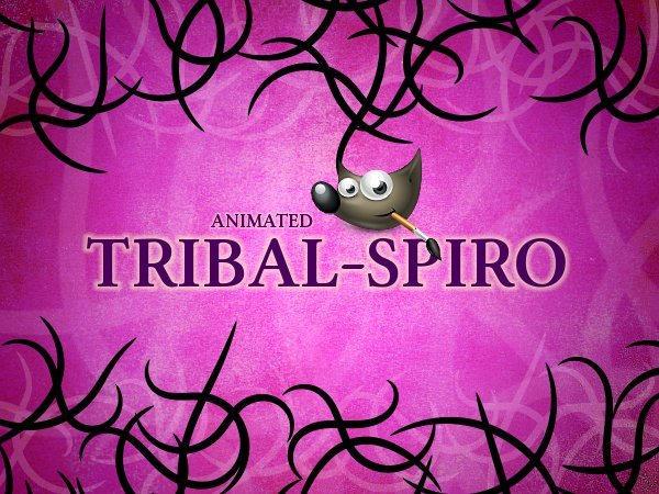 GIMP-Tribal-Spiro-Brush by Chrisdesign