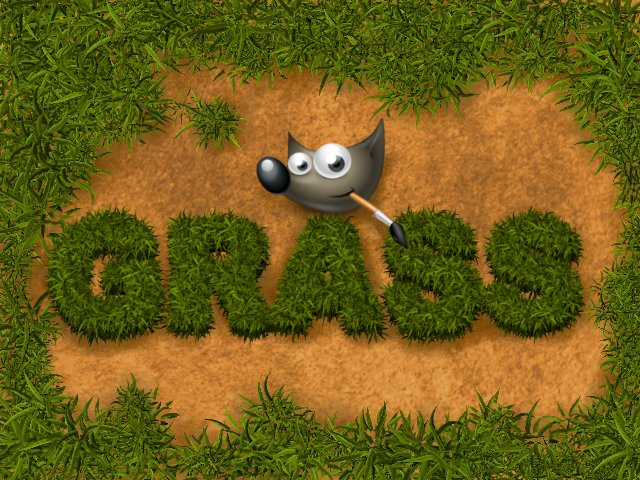 GIMP-Grass-Brush by Chrisdesign