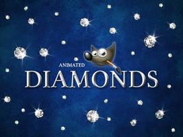 GIMP-Diamonds-Brush by Chrisdesign